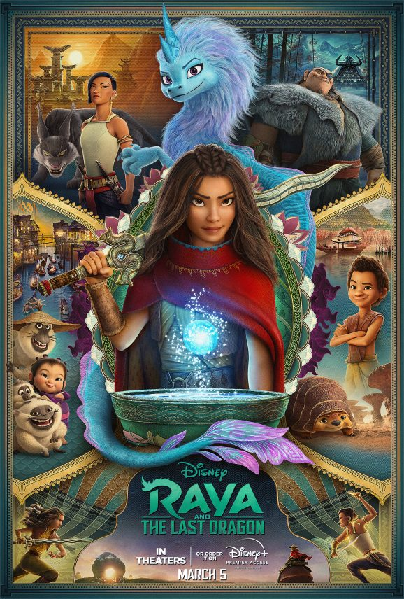 Raya and The Last Dragon | Payoff Poster Concept, Finishing & Illustration