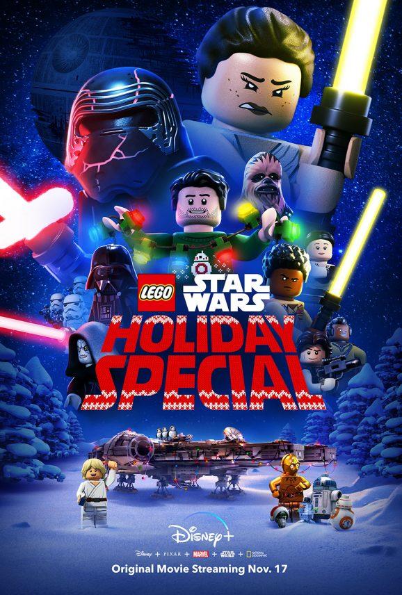 The Lego Star Wars Holiday Special | Key Art Finishing & Illustration