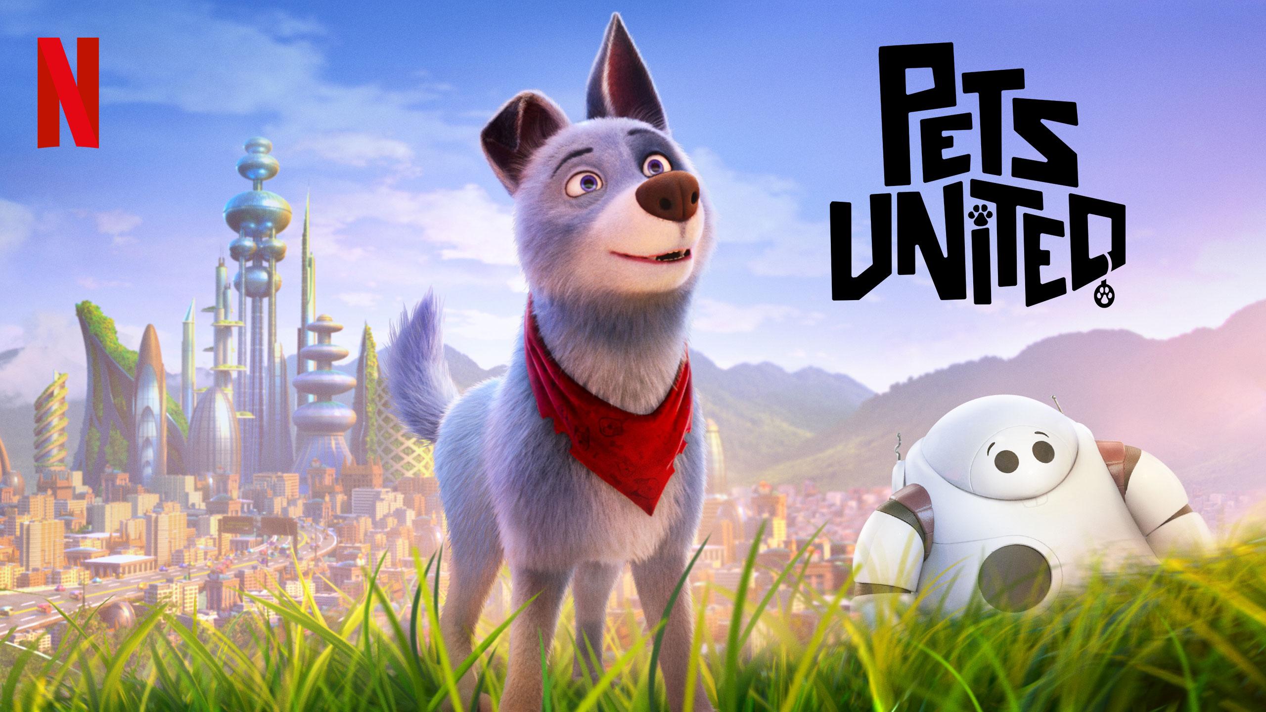 Pets United | Netflix DA Concept, Finishing & Illustration