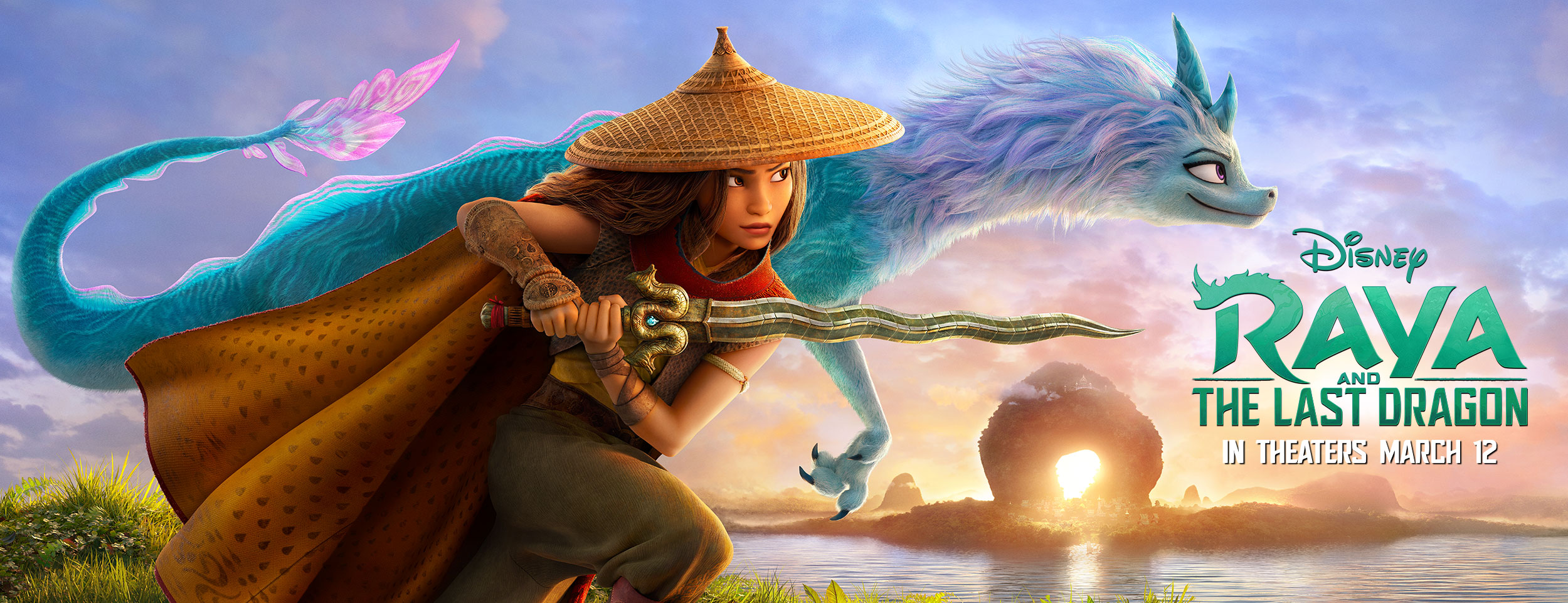 Raya and The Last Dragon | Outdoor Concept, Finishing & Illustration