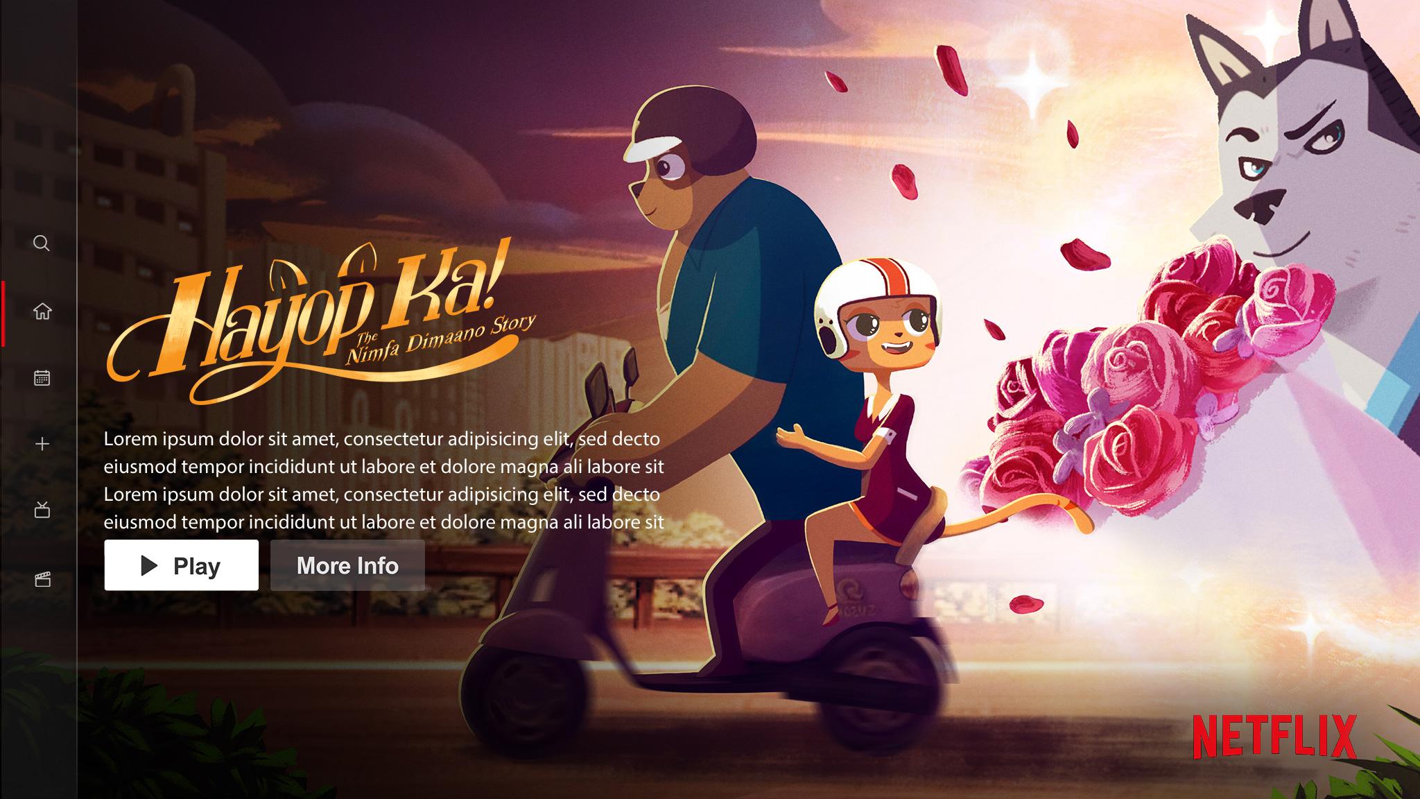 Hayop Ka! | Netflix Billboard Concept, Finishing & Illustration