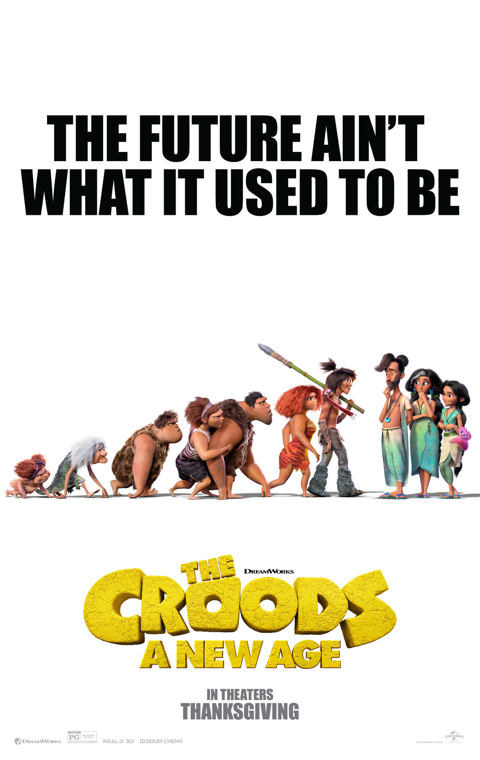 The Croods: A New Age | Poster Concept Design