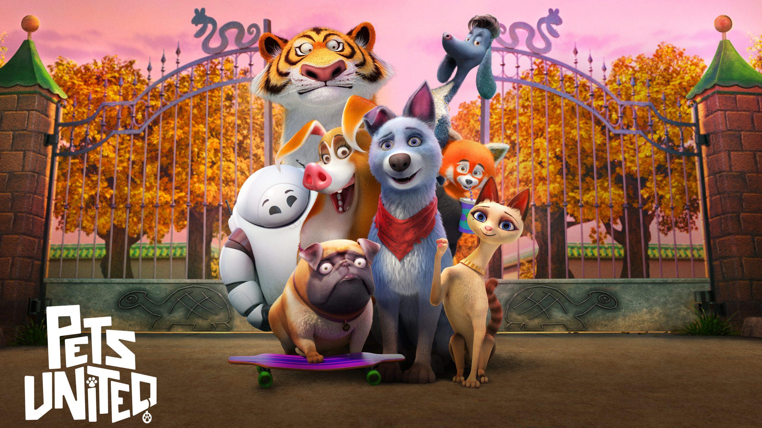 Pets United | Netflix Story Art Concept, Finishing & Illustration