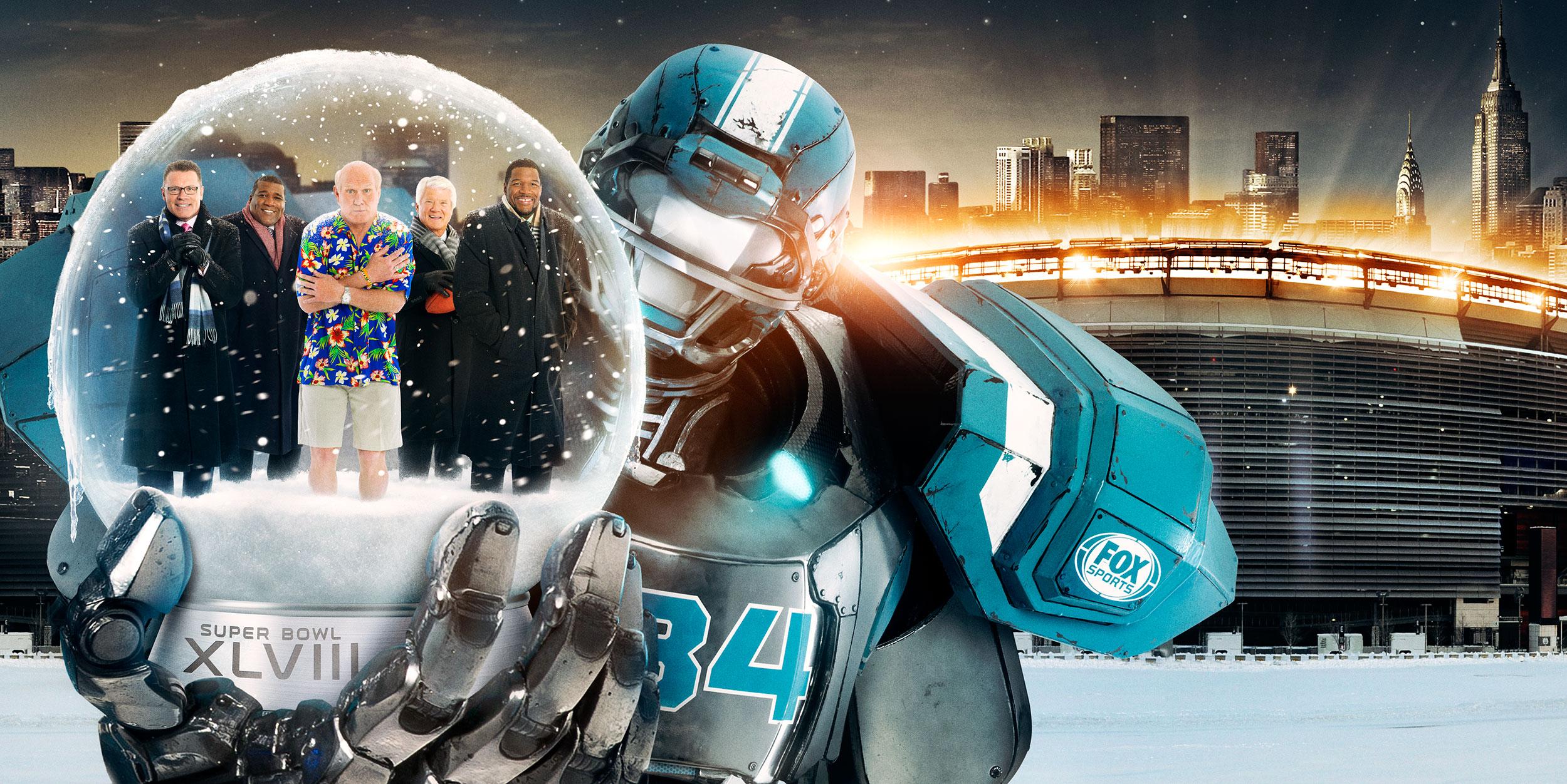 Fox Sports | Superbowl XLVIII Key Art
