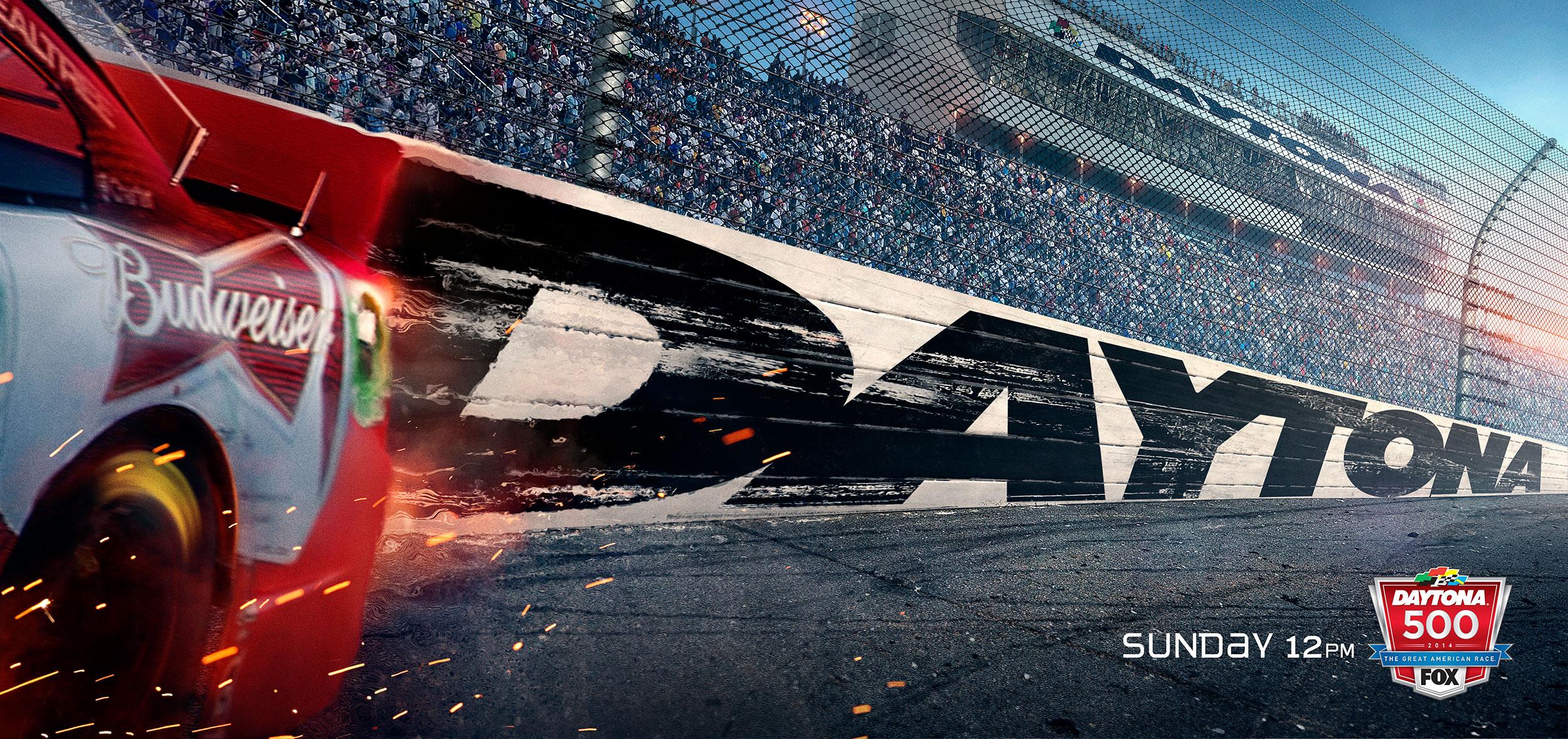 Fox Sports | Daytona 500 Key Art