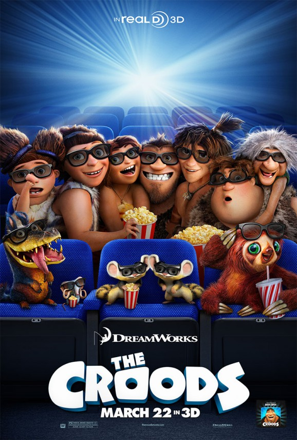 The Croods 3D | One Sheet