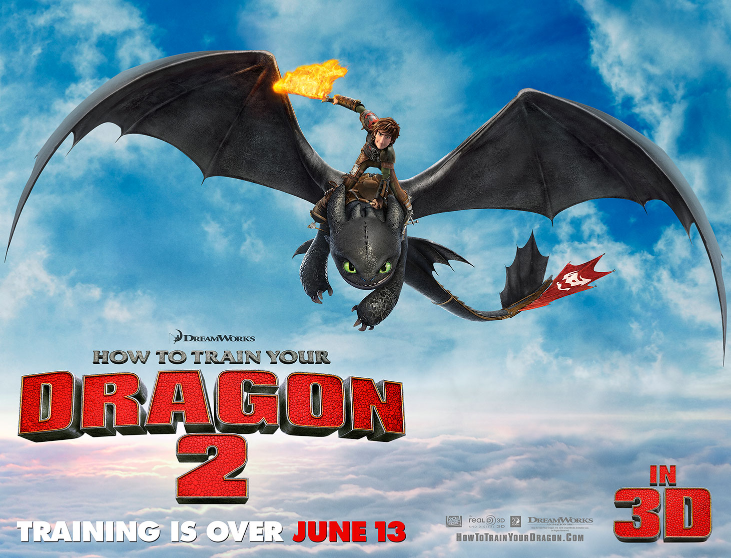 How to Train Your Dragon 2 | AMC Banner