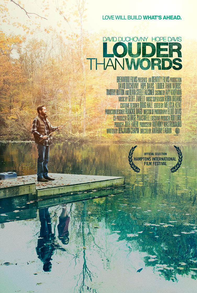 Louder Than Words   One Sheet