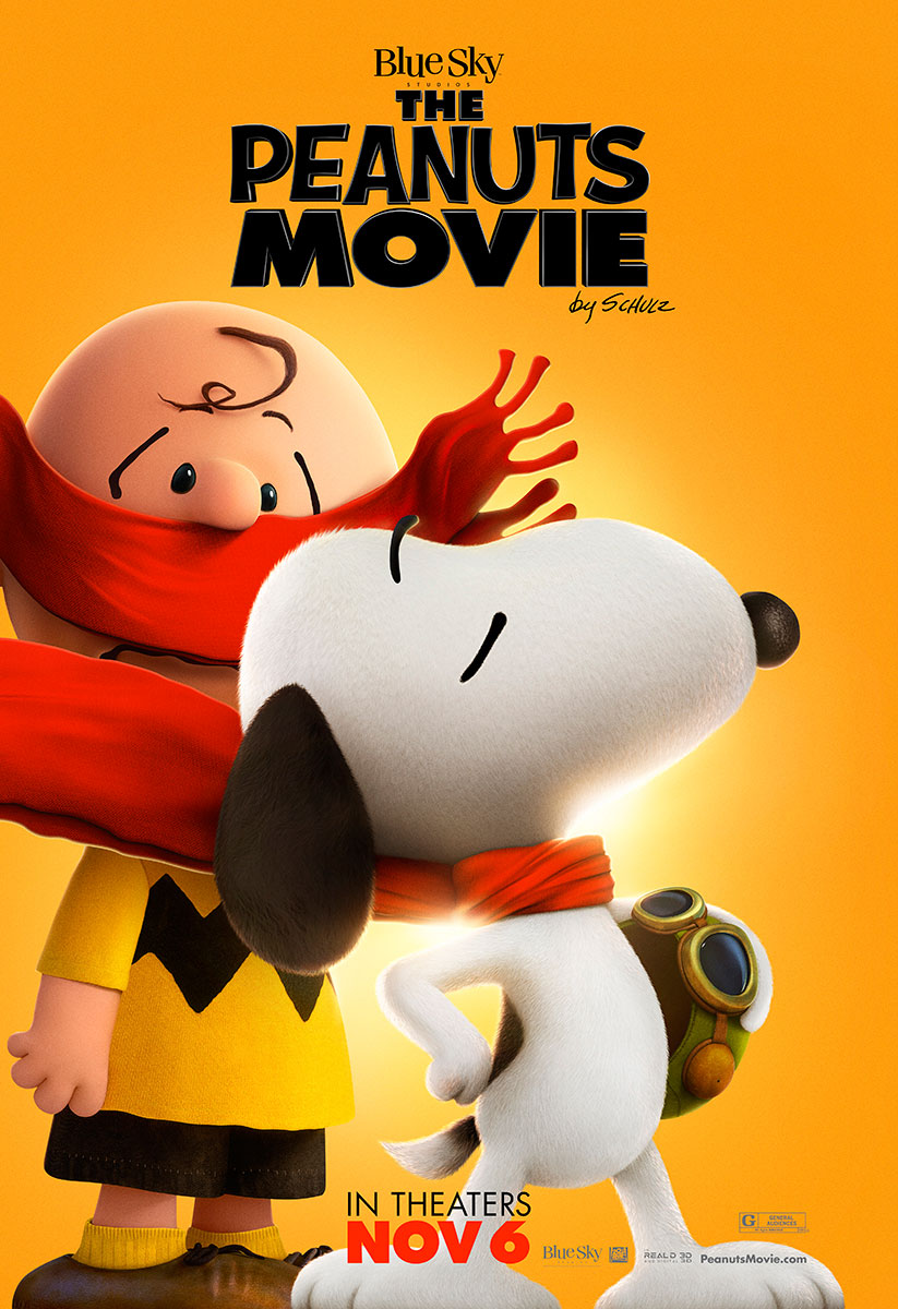 The Peanuts Movie | Bus Shelter Design, Finishing & Illustration