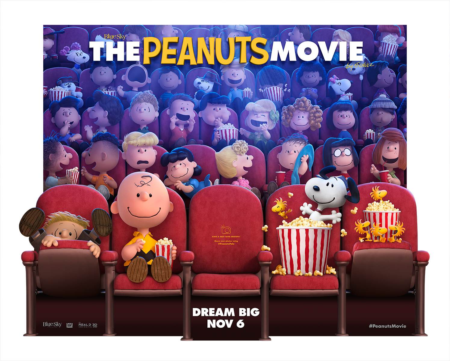 The Peanuts Movie | In Theater Standee