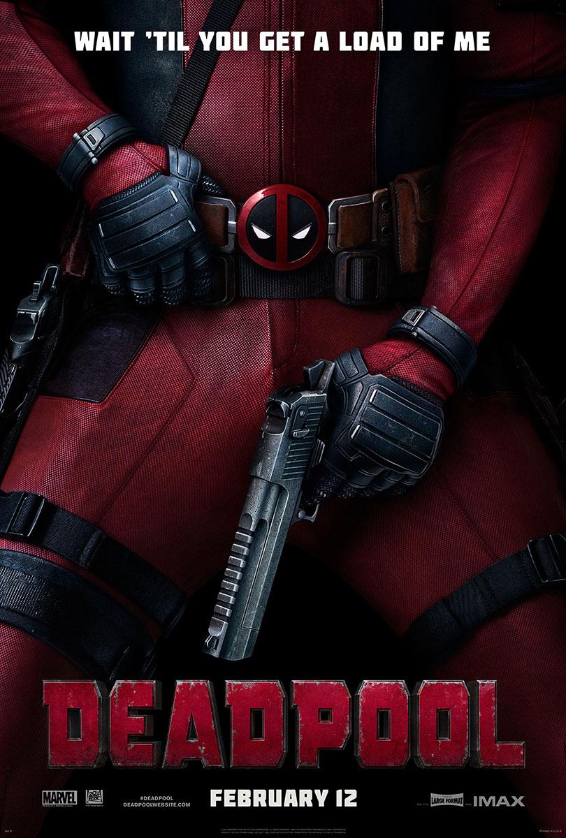 Deadpool | One-Sheet Teaser Design, Finishing & Illustration