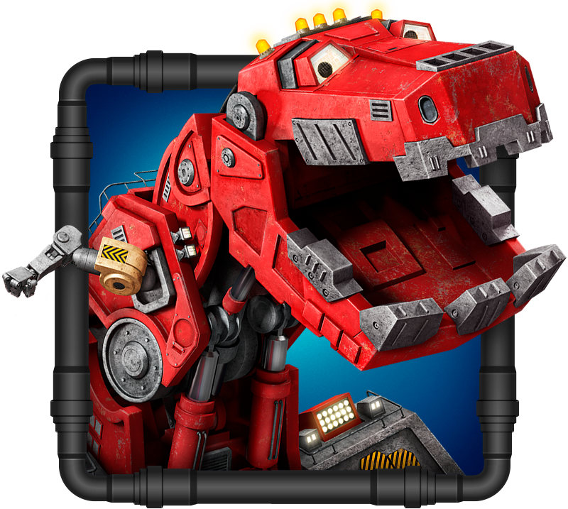 Dinotrux Pose Finishing