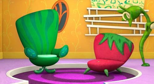 Veggie Tales Background Finishing