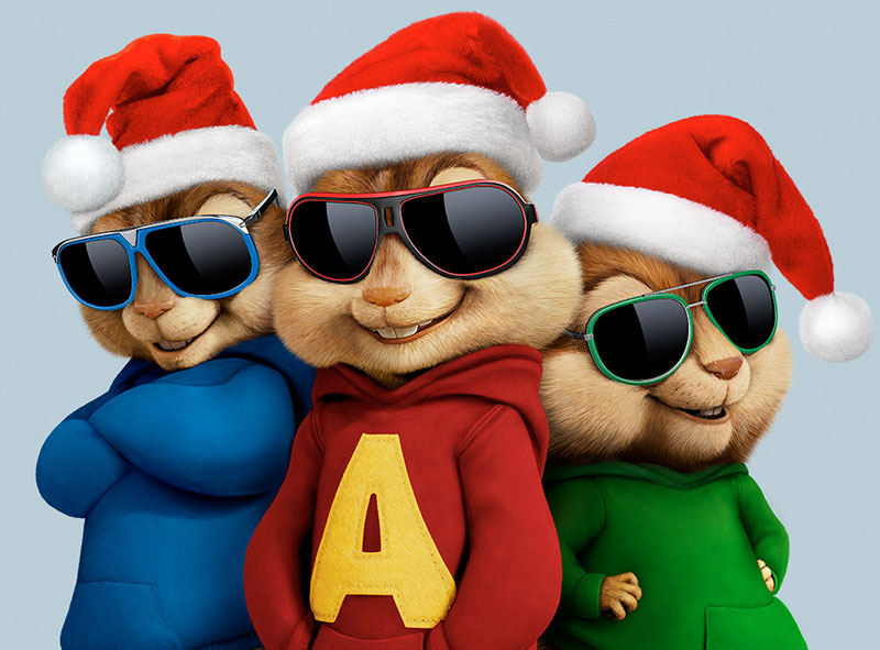 Alvin and the Chipmunks: The Road Chip | Holiday Publicity Finish