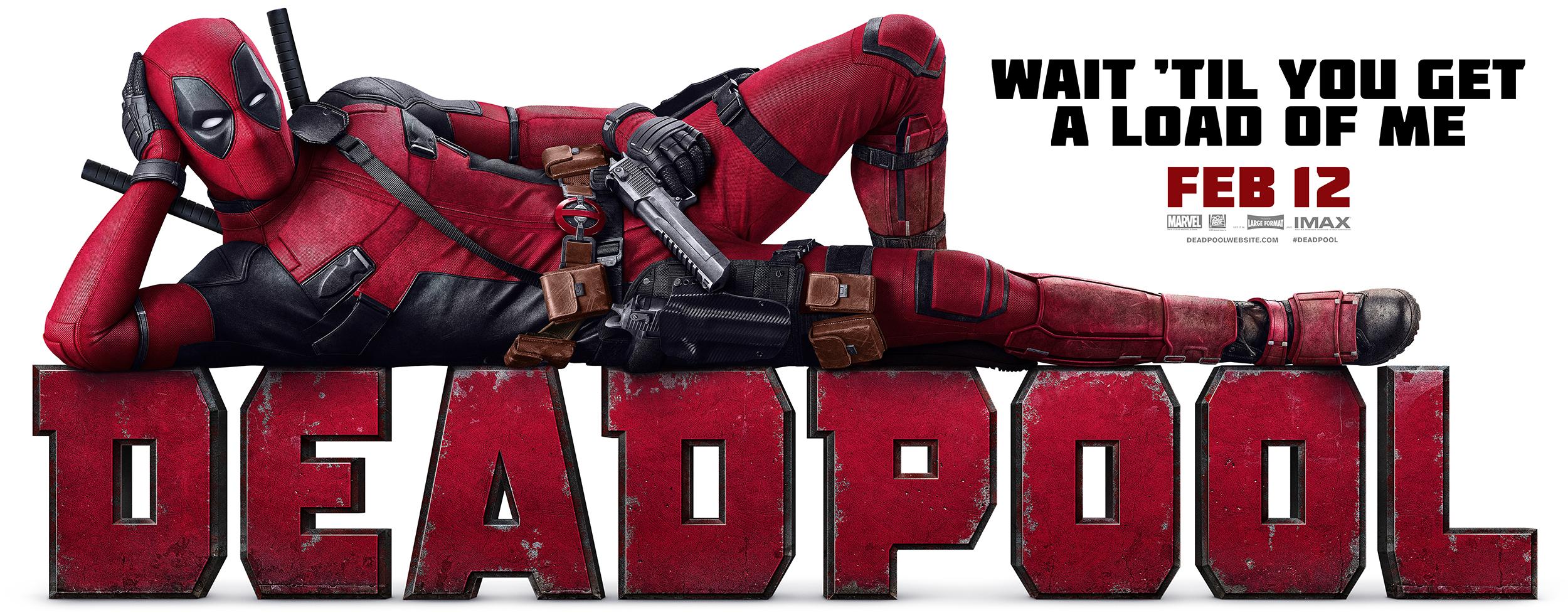 Deadpool | 405 Wall Design, Finishing & Illustration