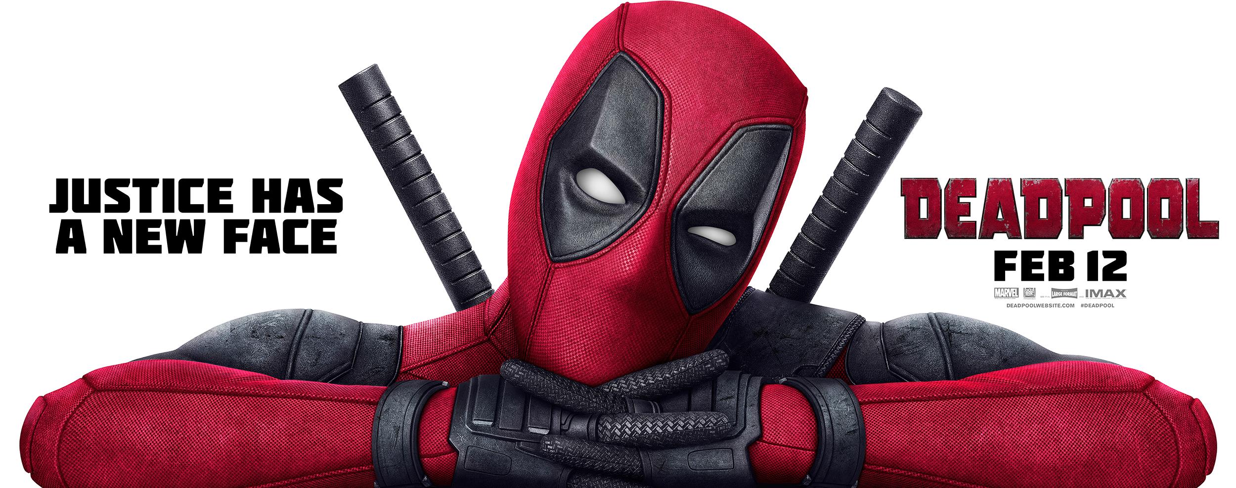 Deadpool | Billboard Design, Finishing & Illustration