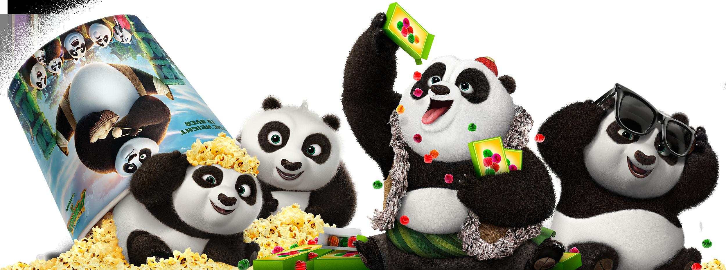 Kung Fu Panda 3 | Clings Finishing & Illustration