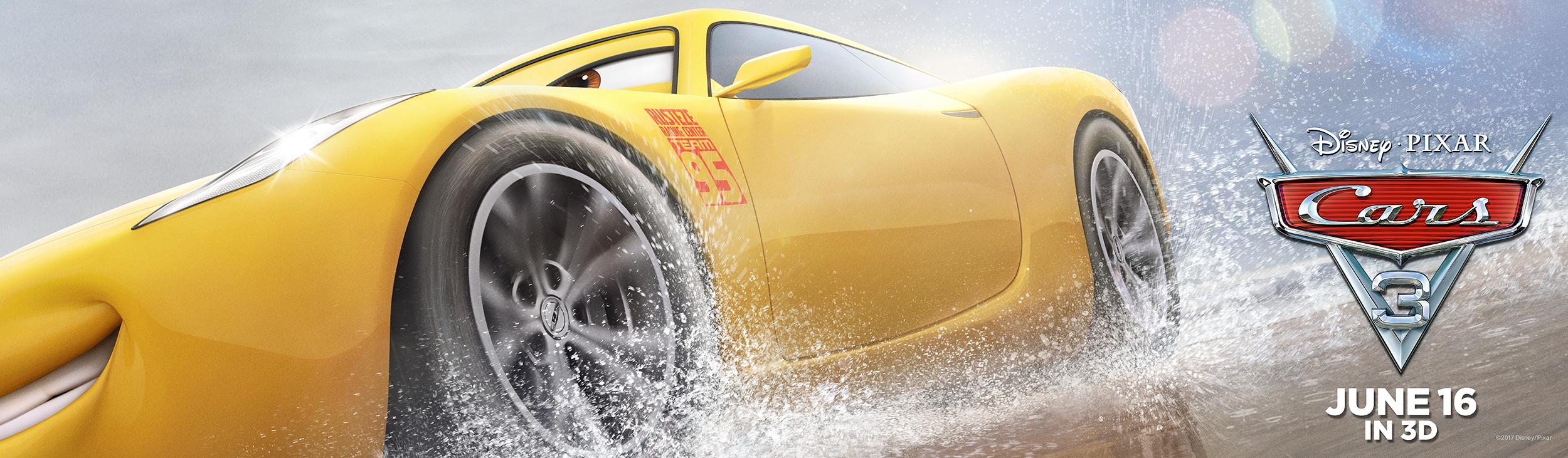Cars 3 | Cruz Billboard Concept, Finishing & Illustration