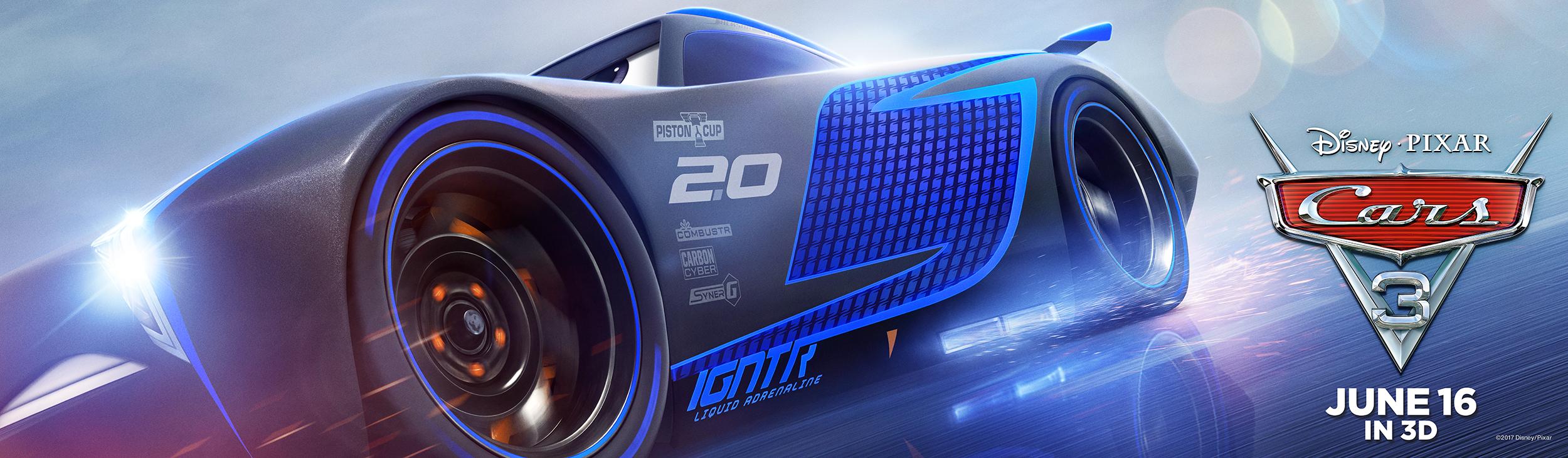 Cars 3 | Storm Billboard Concept, Finishing & Illustration