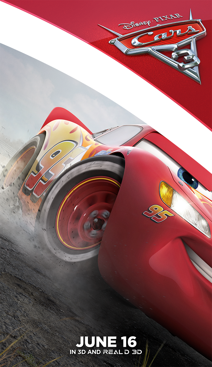 Cars 3   McQueen Cling Concept, Finishing & Illustration