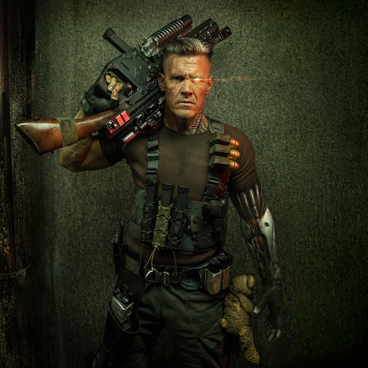 Deadpool 2 | Cable 1st Look Finishing & Illustration