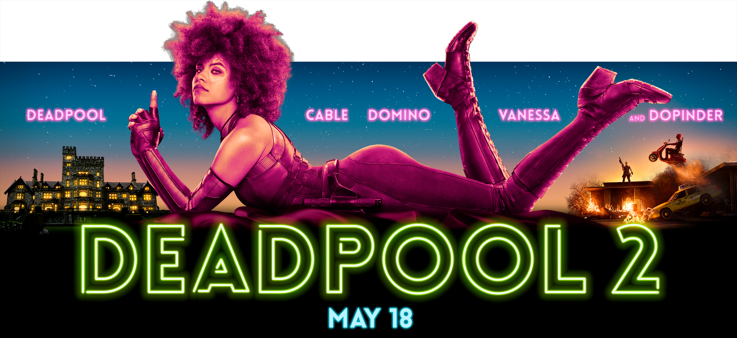 Deadpool 2 | Domino BB Concept, Finishing & Illustration