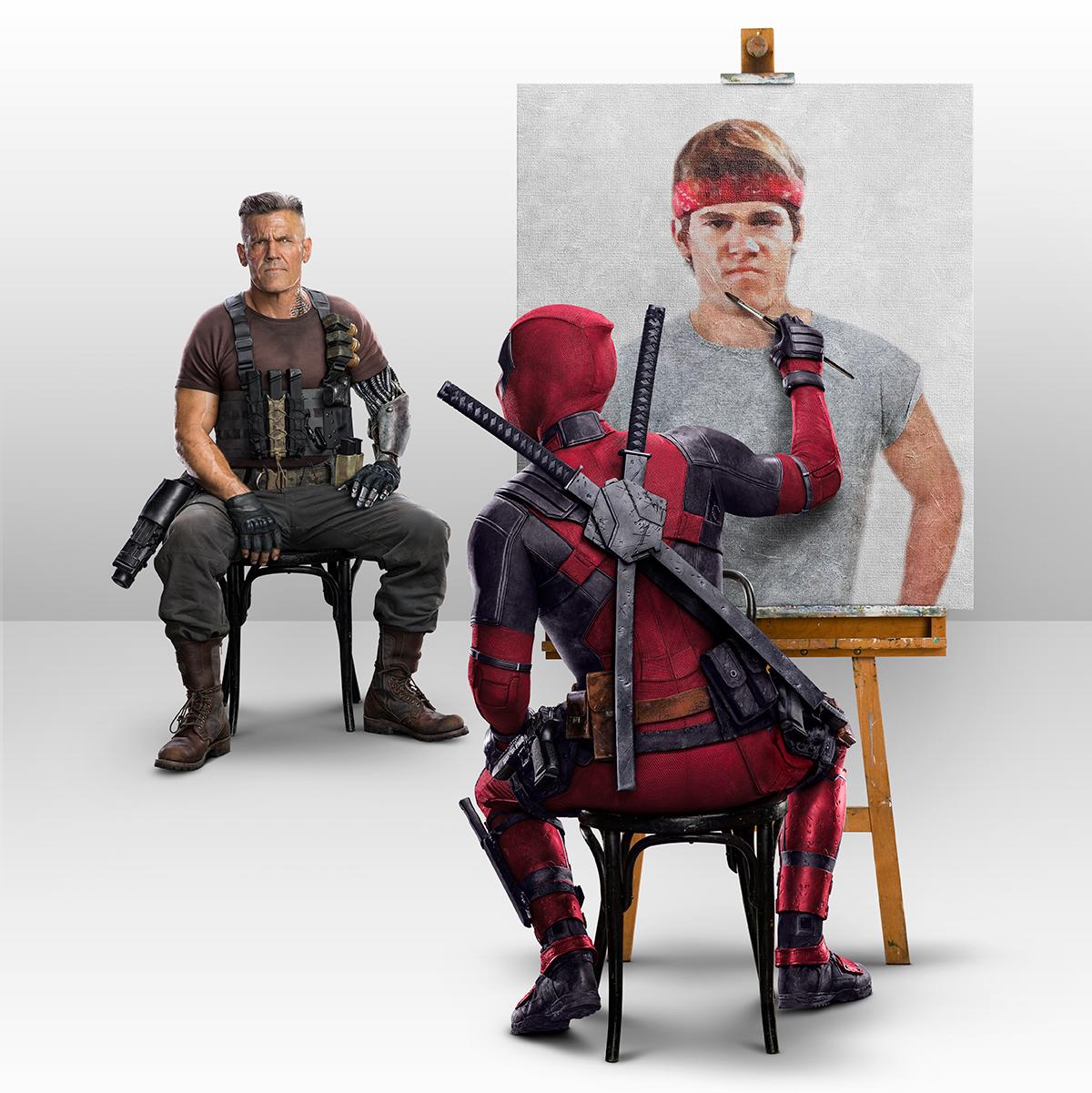 Deadpool 2 | Goonies Concept, Finishing & Illustration