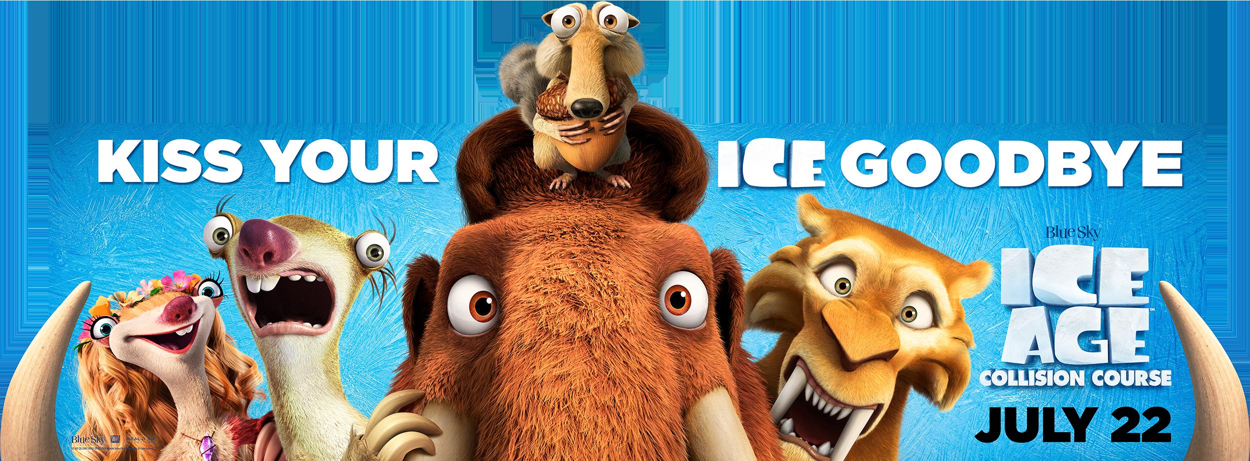 Ice Age: Collision Course | Billboard Finishing & Illustration