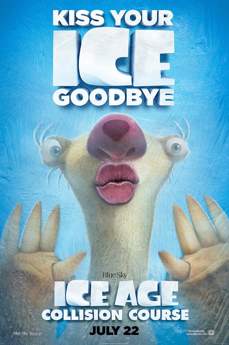 Ice Age: Collision Course | Cling Finishing & Illustration