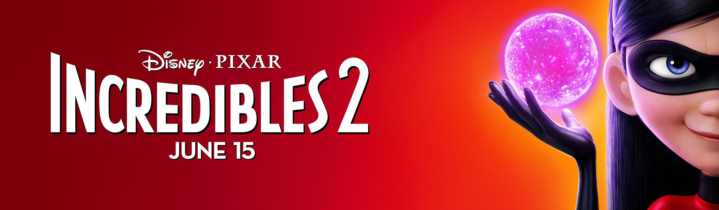 Incredibles 2 | Violet Billboard Concept, Finishing & Illustration