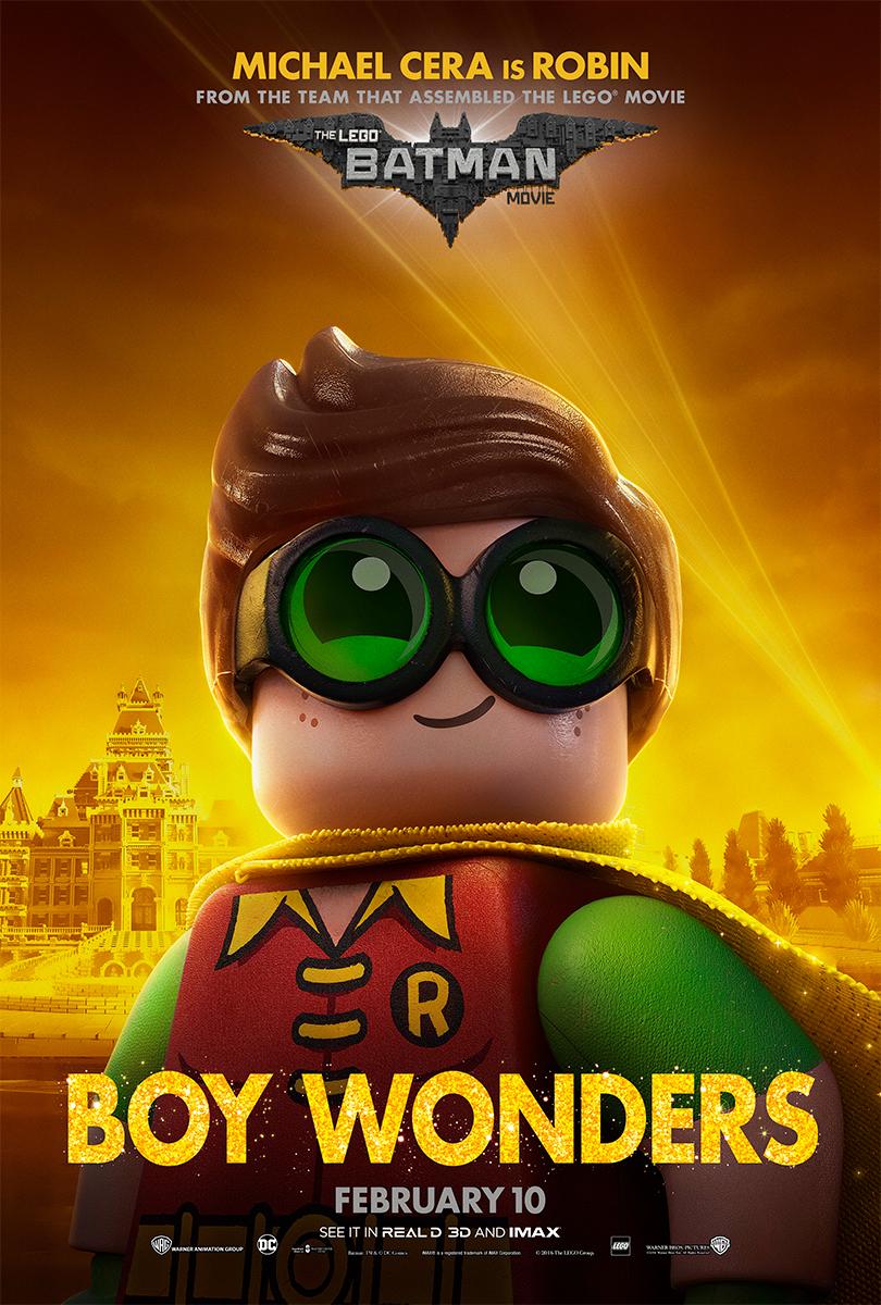 The Lego Batman Movie   Robin Bus Shelter Concept, Finishing & Illustration