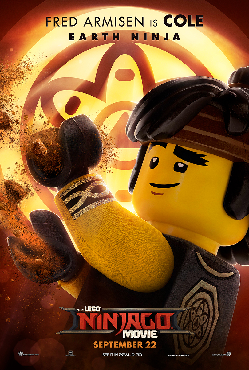 The Lego Ninjago Movie | Cole Banner Concept, Finishing & Illustration