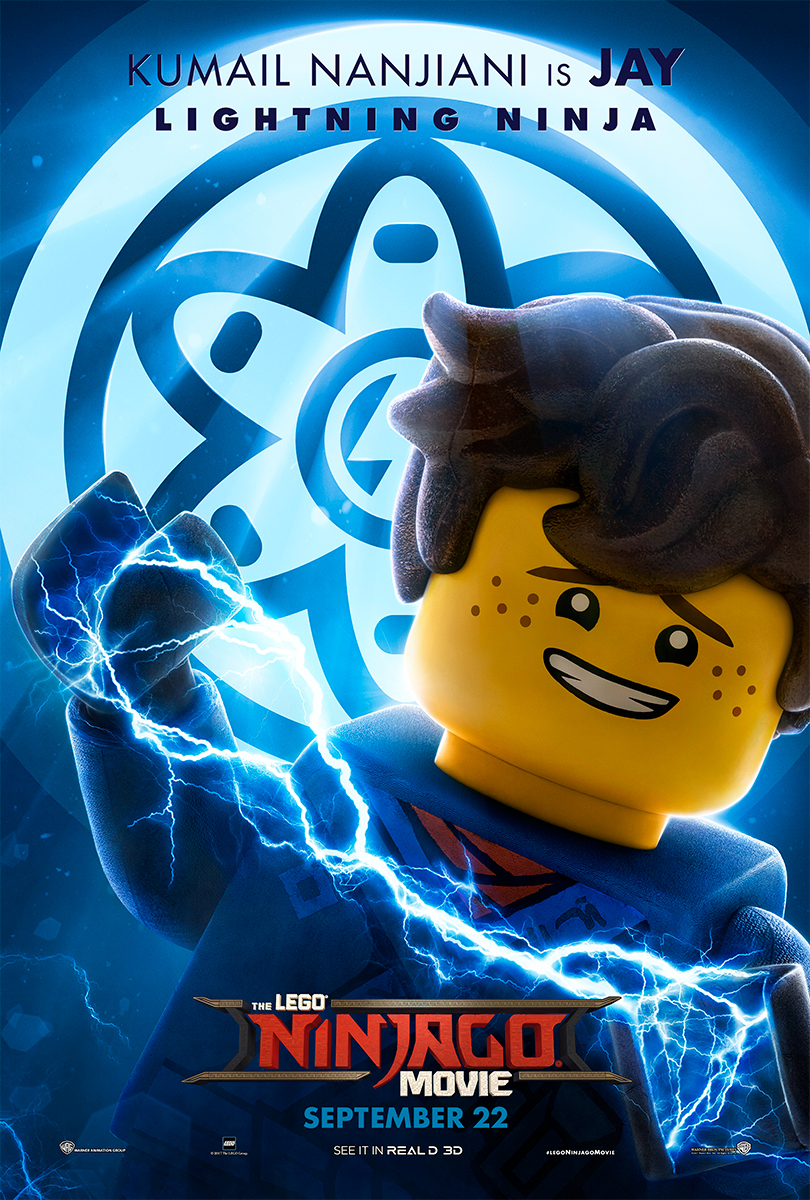 The Lego Ninjago Movie | Jay Banner Concept, Finishing & Illustration