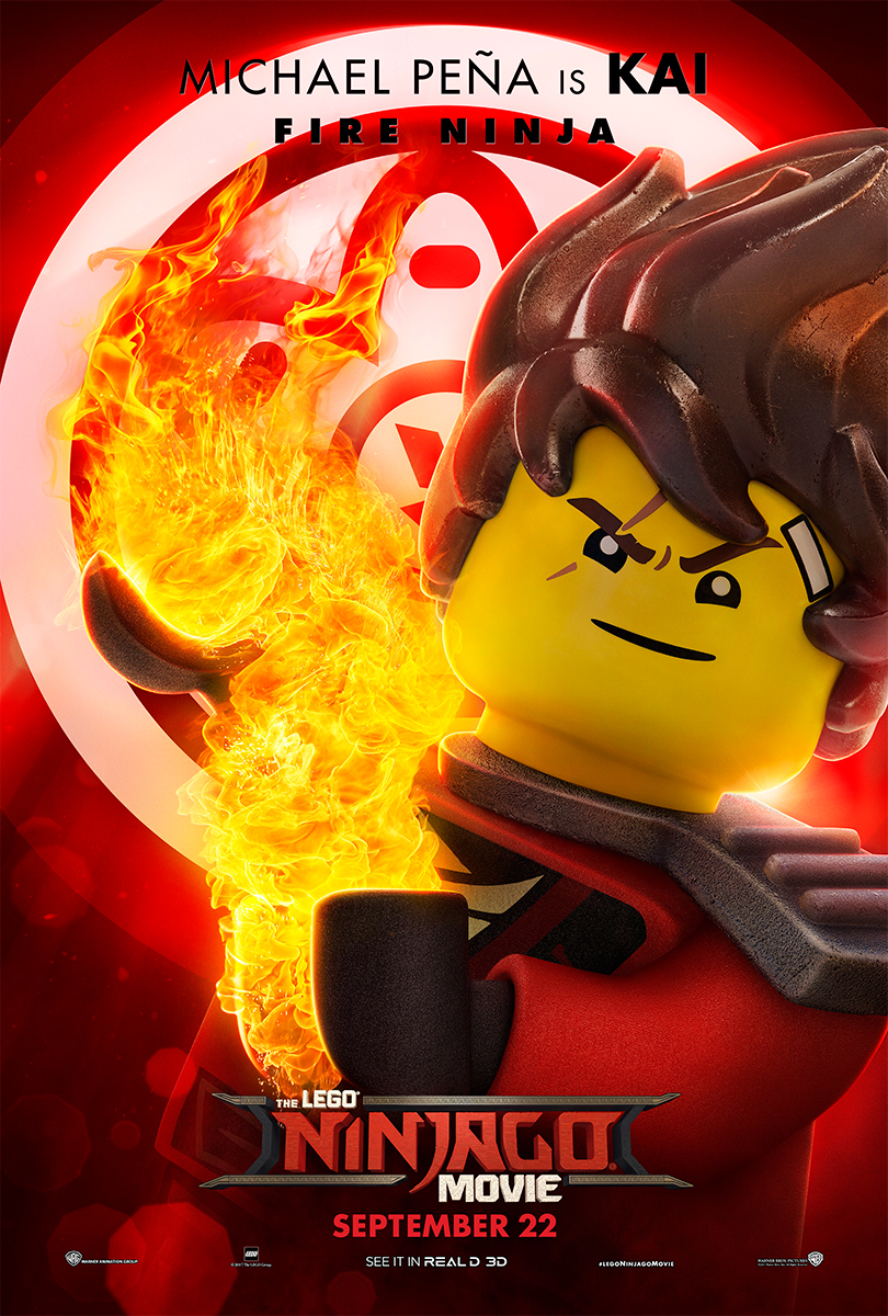 The Lego Ninjago Movie | Kai Banner Concept, Finishing & Illustration