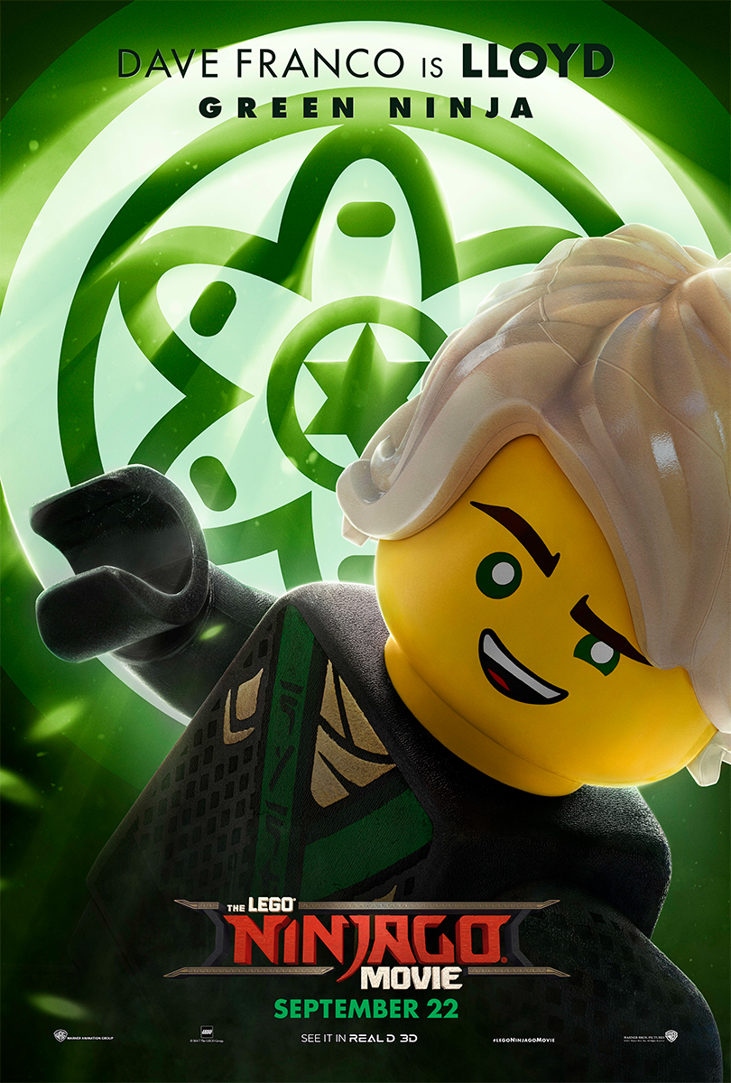 The Lego Ninjago Movie | LLoyd Banner Concept, Finishing & Illustration
