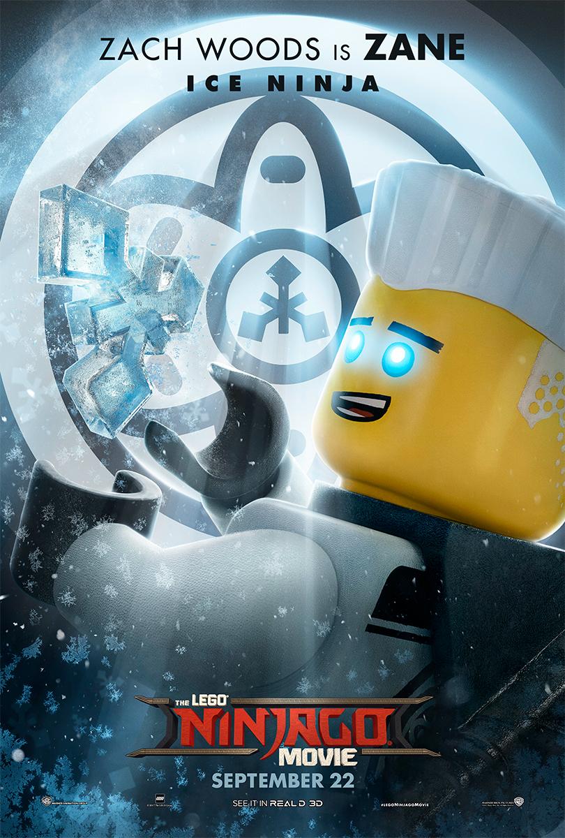 The Lego Ninjago Movie   Zane Banner Concept, Finishing & Illustration