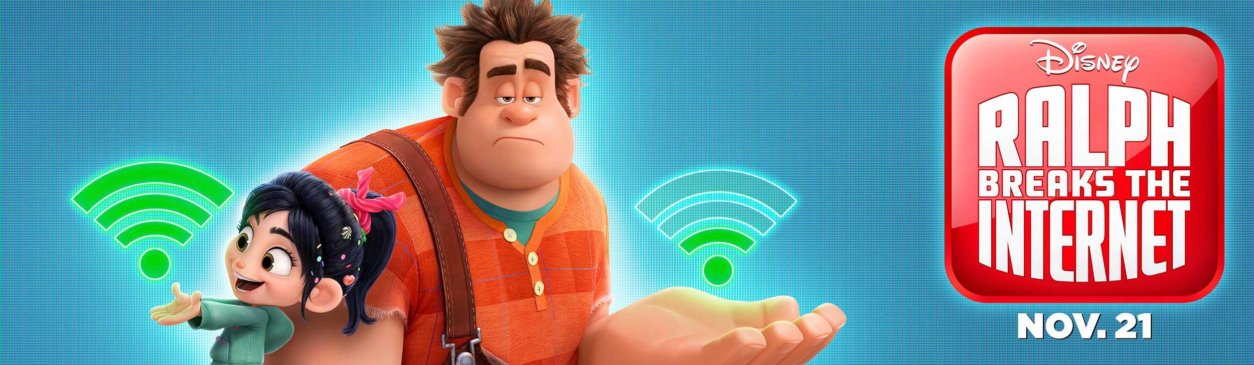 Ralph Breaks the Internet | Billboard Concept, Finishing & Illustration