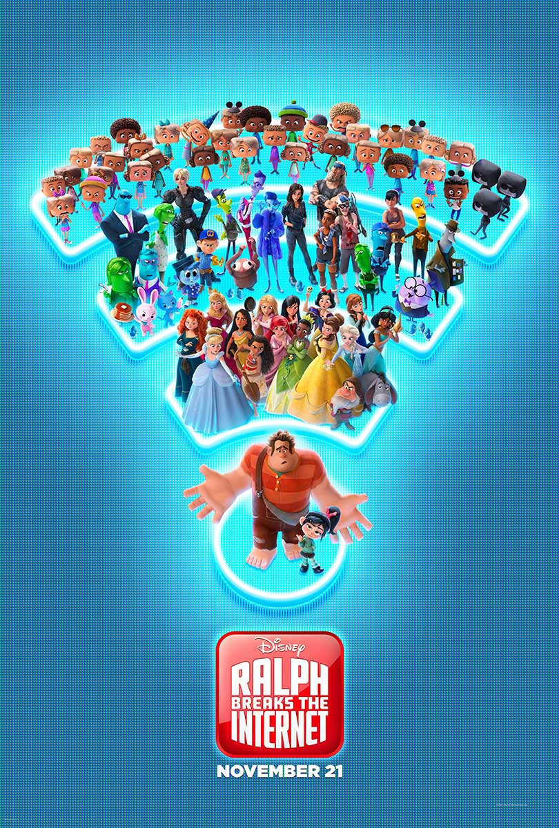 Ralph Breaks the Internet | Payoff Concept, Finishing & Illustration
