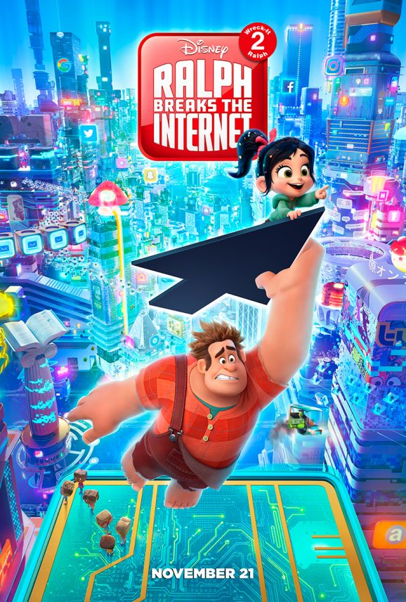 Ralph Breaks the Internet | One Sheet Concept, Finishing & Illustration