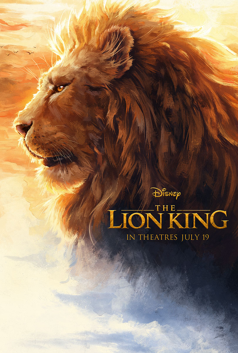 The Lion King | Painting Concept, Finishing & Illustration