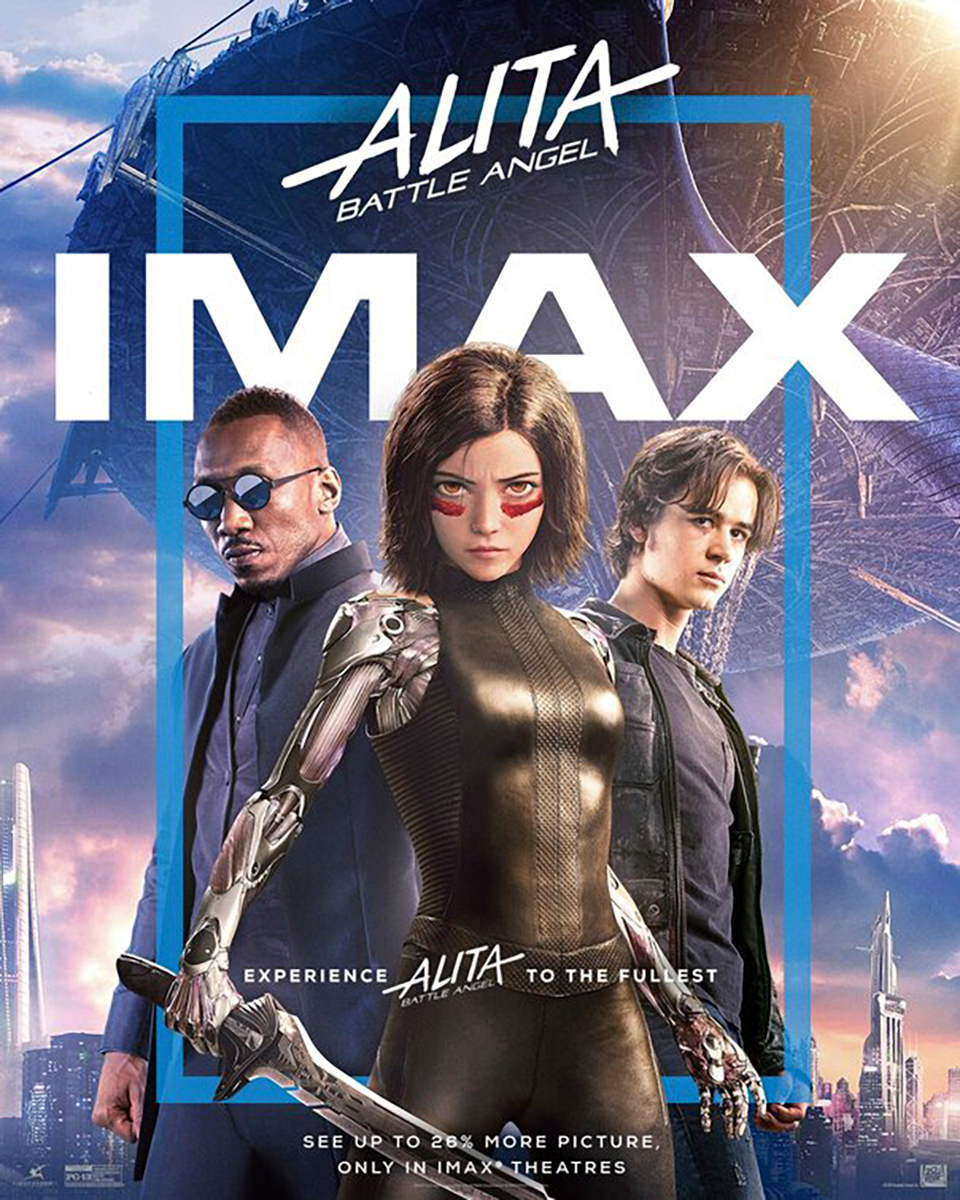 Alita: Battle Angel | IMAX Finishing & Illustration