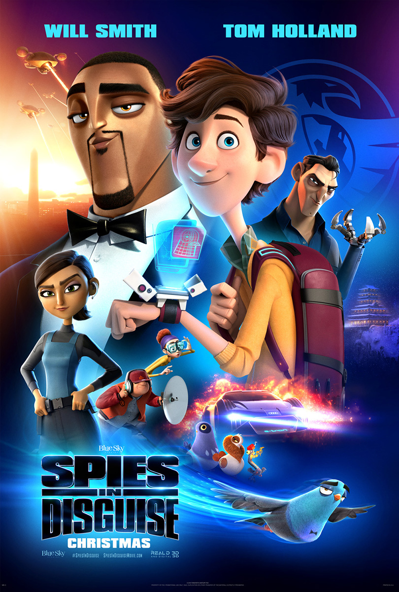 Spies in Disguise | Payoff Finishing