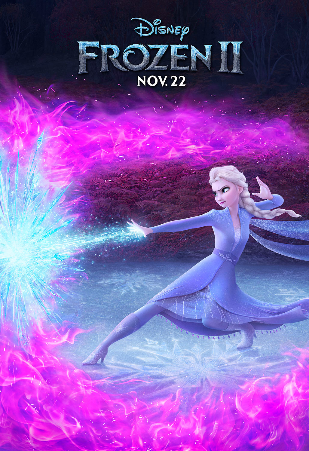 Frozen 2 | Outdoor Concept, Finishing & Illustration
