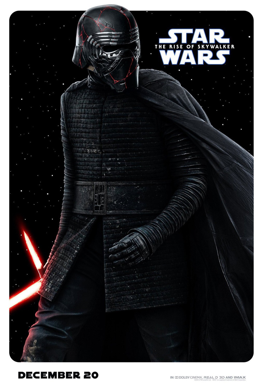 Star Wars: The Rise of Skywalker | Character Banner Finishing & Illustration