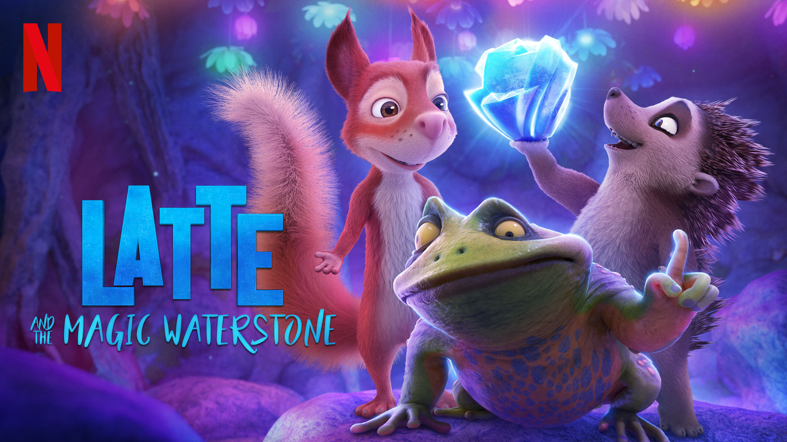 Latte and the Magic Waterstone | Netflix HDA Concept, Finishing & Illustration