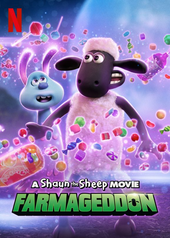 A Shaun the Sheep Movie: Farmageddon | Netflix VDA Concept, Finishing & Illustration