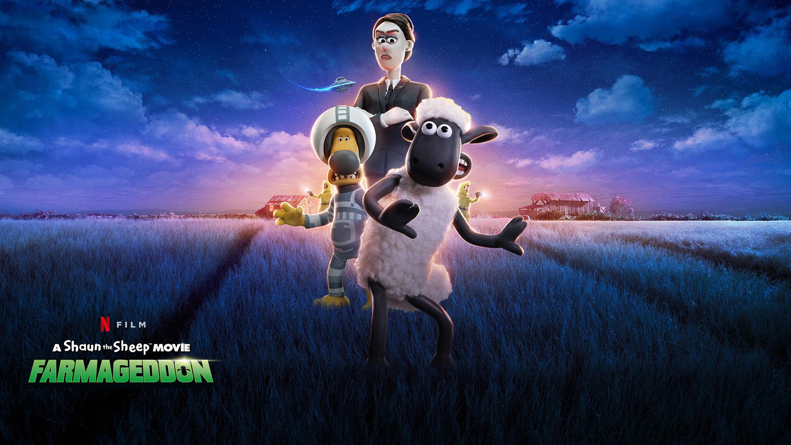 A Shaun the Sheep Movie: Farmageddon | Netflix Short Panel Concept, Finishing & Illustration