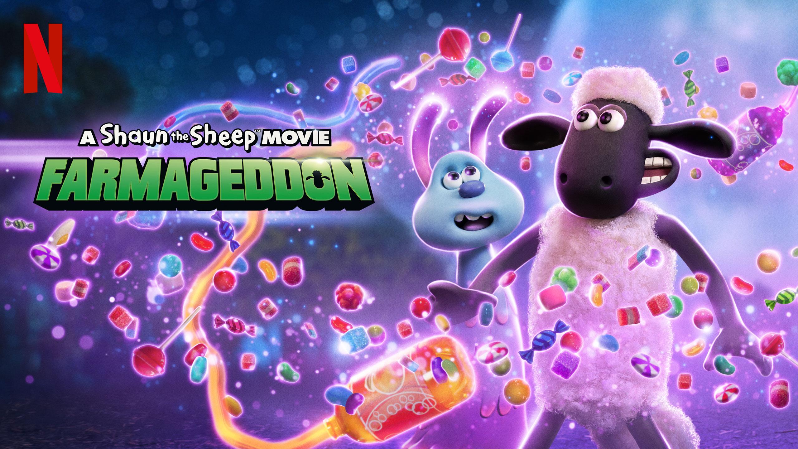 A Shaun the Sheep Movie: Farmageddon | Netflix VDA Concept, Finishing & Illustration