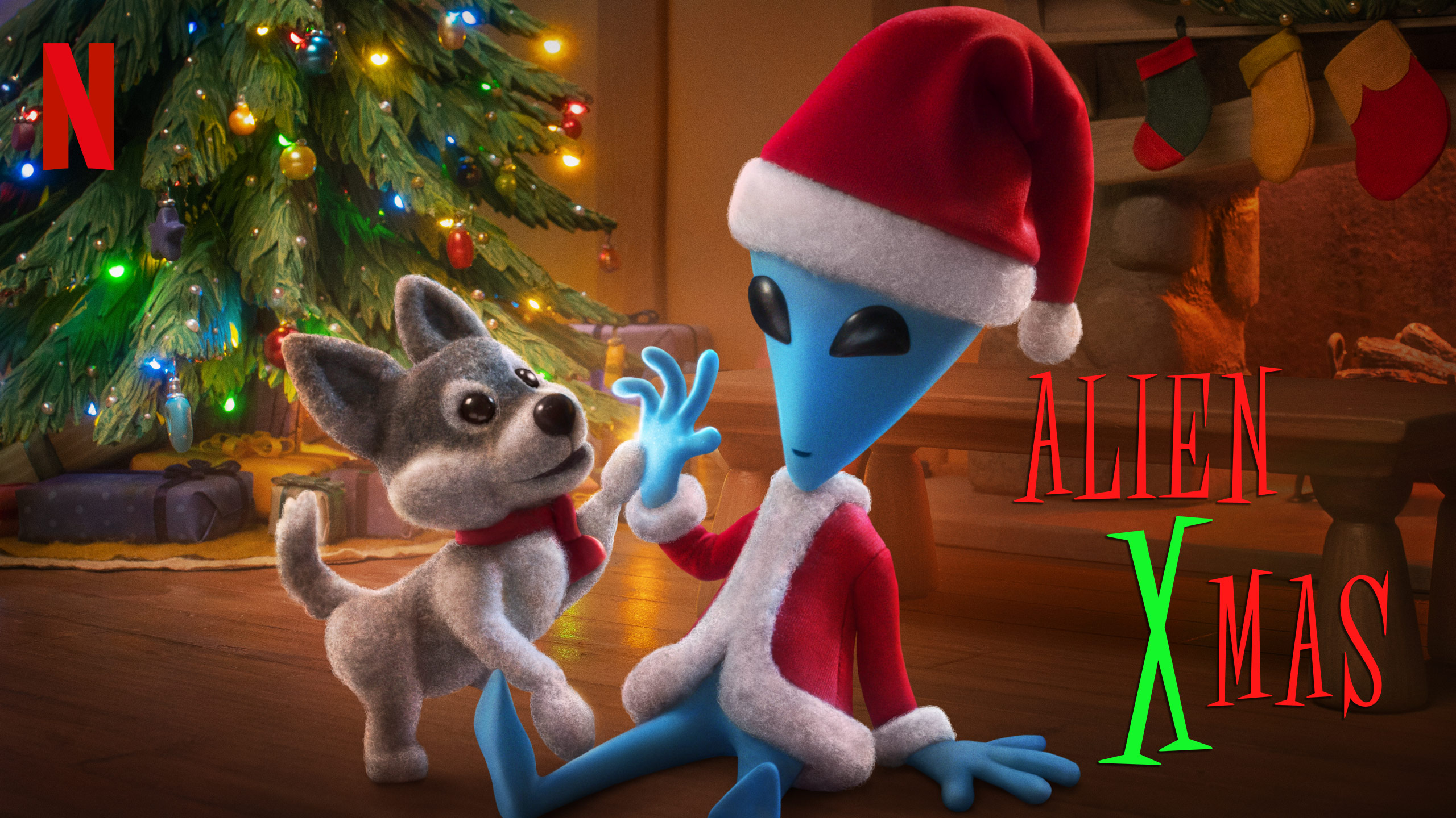 Alien XMas | Netflix DA Concept, Finishing & Illustration