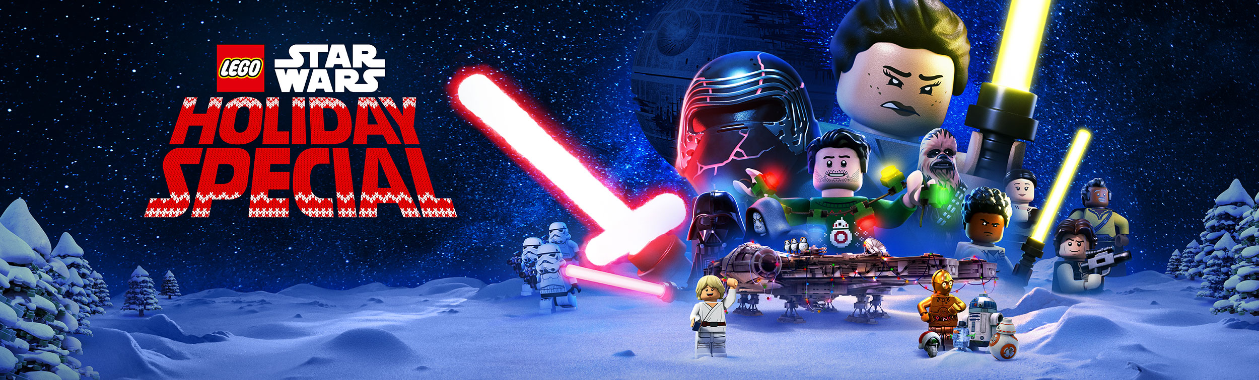 The Lego Star Wars Holiday Special | Billboard Finishing & Illustration